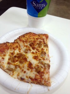 Sam's Club Cafe Pizza