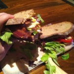 The Two-Handed BLTA from First Food & Bar