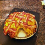 Macaroni and Cheese Pie With a Bacon Pie Crust