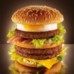 The McDonald's Mega Tamago Burger