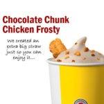 Wendy's Chocolate Chunk Chicken Frosty