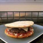 The Home Run Inn Pizza Burger