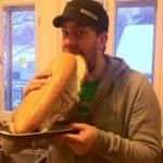 The Big Oversized Sub Sandwich