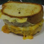 The Crab Grilled Cheese