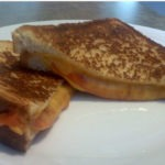 Soup in a Sandwich Grilled Cheese