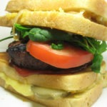 The Grilled Cheesus Burger