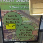 Pick 'n Save's All You Can Eat Salad Bar