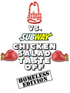 Arby's vs. Subway Chicken Salad Taste-Off