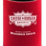 The Cheese & Burger Society koozie