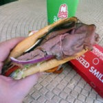 The Arby's Angus Cool Deli Sandwich