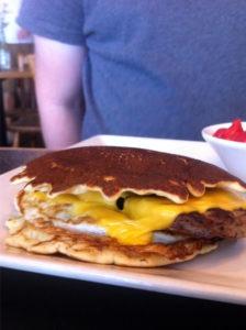 The Pancake Egg Burger