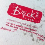 Brick 3 Pizza