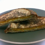 Make a grilled cheese sandwich in your toaster!