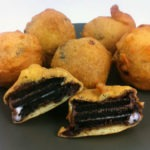 Chocolate Covered Deep Fried Triple Double Oreos