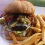 The Apple Bacon Burger