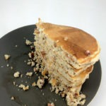 Bacon & Almond Pumpkin Spice Pancakes