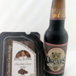 Kelly's Kitchen Chocolate Cheese Fudge and Oscar's Chocolate Oatmeal Stout