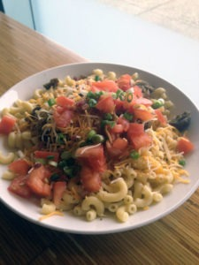 Bacon Cheeseburger Mac & Cheese from Noodles & Company