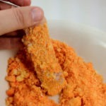 Cheese Ball Crusted Chicken Strips