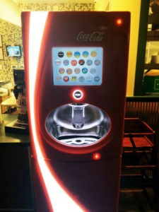 Wingstop's Coca-Cola Freestyle Machine