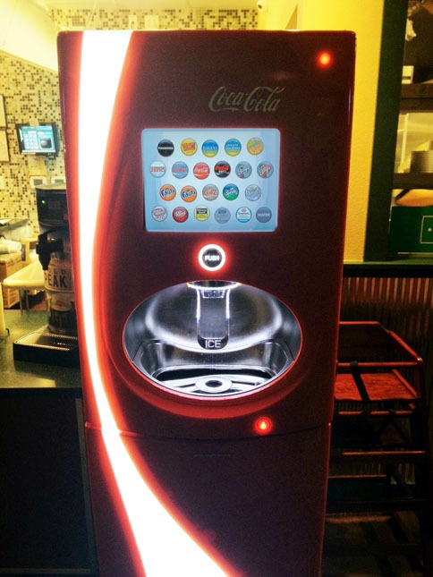 Wingstop and the Coca-Cola Freestyle Machine | DudeFoods.com