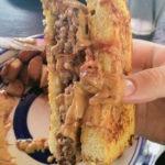 The French Toast Burger from Hamburger Mary's
