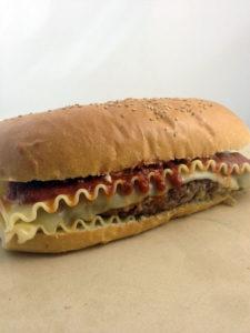 The Lasagna Burger
