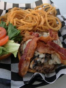 The Black Truffle Butter Burger