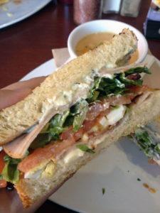 Melthouse Bistro's Maliblue Sandwich