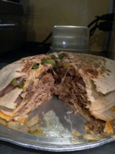 The Qdoba Seven Layer Quesadilla