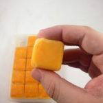 Frozen Cubes of Nacho Cheese
