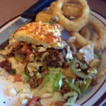 The Macho Nacho Burger