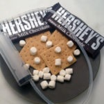 Everything you need for s'mores spaghetti!