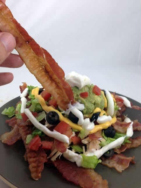 Bacon Nachos