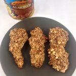 Pumpkin Spice Almond Crusted Chicken Strips