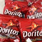 All my extra bags of Doritos