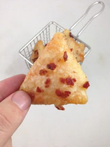 Beer and Bacon Battered Deep Fried Doritos