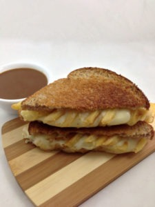 The Poutine Grilled Cheese Sandwich