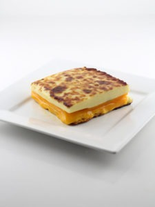 The 100% Cheese Grilled Cheese Sandwich