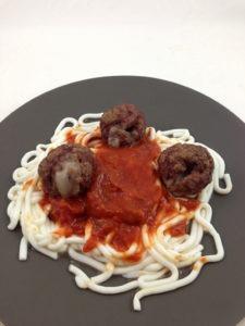 Molecular Gastronomy Mac & Cheese Spaghetti