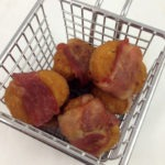 Bacon Wrapped MorningStar Farms Chik'n Nuggets