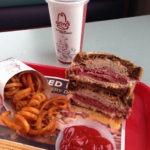 The Arby's Reuben Sandwich