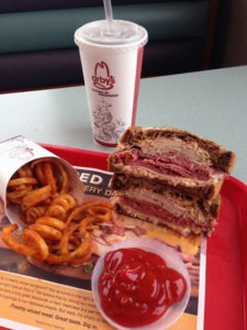 The Arby's Reuben Sandwich
