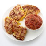 Bacon Weave Quesadilla