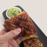 The Bacon Weave Quesadilla