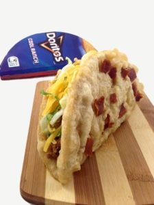 The Deep Fried Doritos Locos Taco