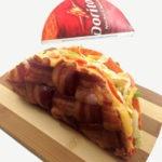 The Cheesy Bacon Weave Doritos Locos Taco