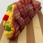 The Bacon Weave Breakfast Taco