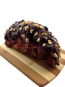 The Bacon Weave Choco Taco