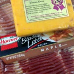 Hormel Bacon and Hook's Bacon Cheddar Cheese!